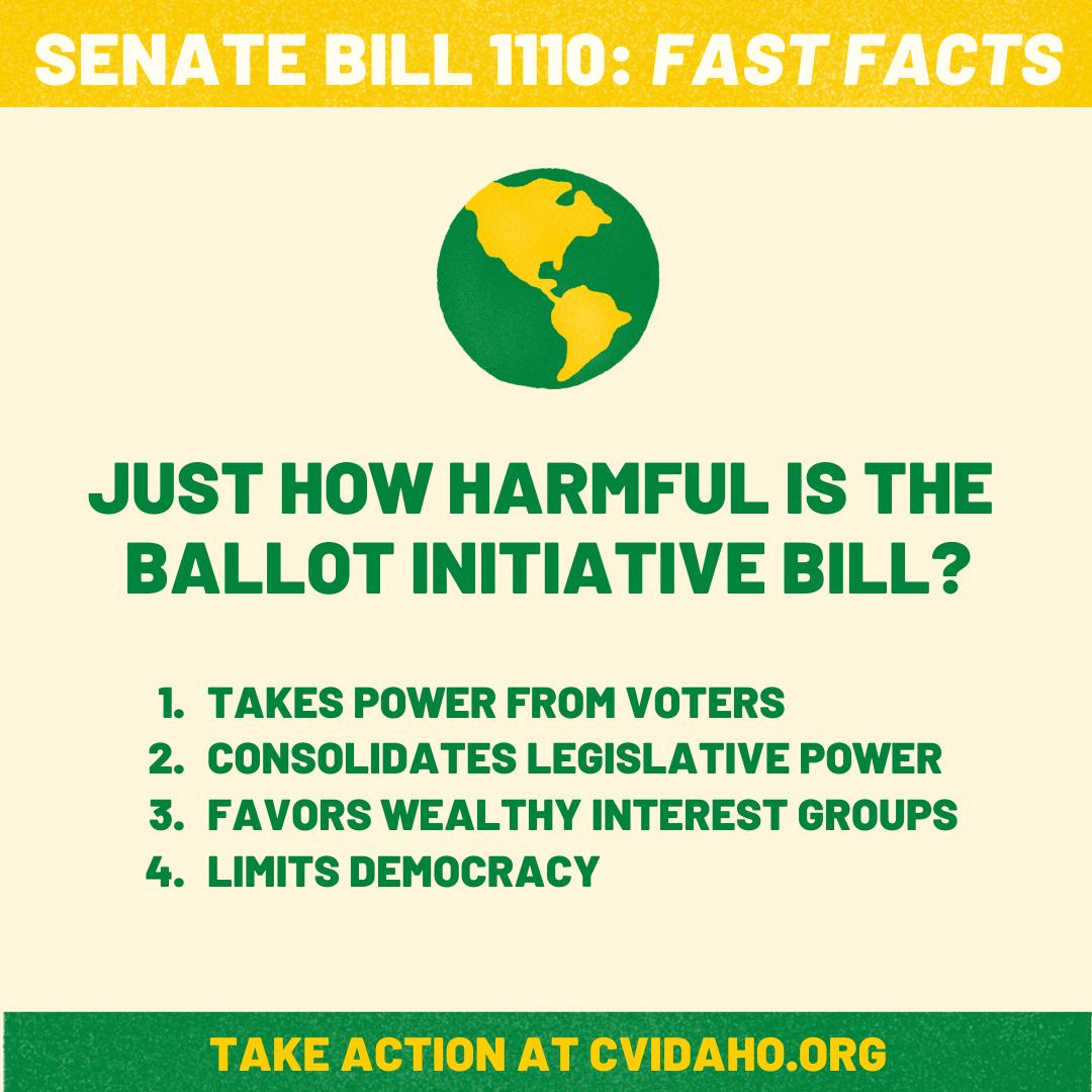 Fast Facts on Senate Bill 1110